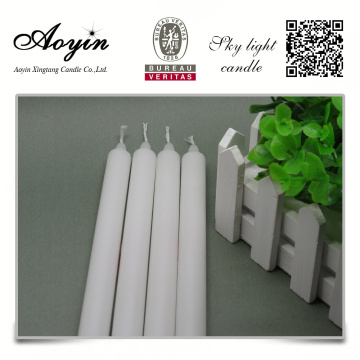 Online shopping cheap high quality white candle