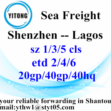 Shenzhen Interantional Logistics Services to Lagos