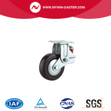150 mm Fixed Shock Absorbing Caster wheel