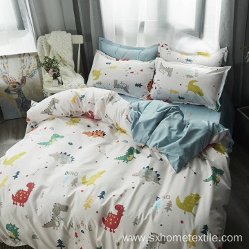 Custom Printed Bedding Set Home Use