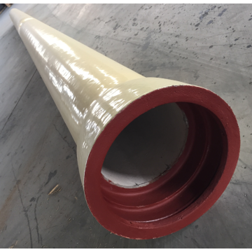 Ductile Iron Flanged PU  pipe