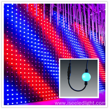 Digital 3D DMX LED ball Curtain light