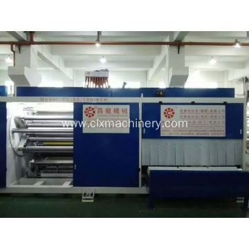 Bag-ong Styly Tulo ka Layer Stretch Film Machine