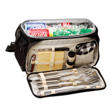 Best-selling 12pcs BBQ set with color bag