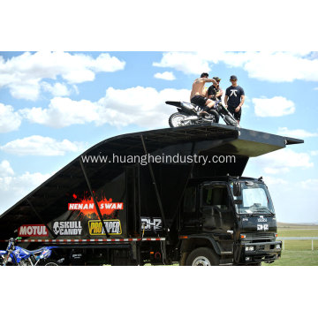 4×2 Motorcycle Stunt Vehicle