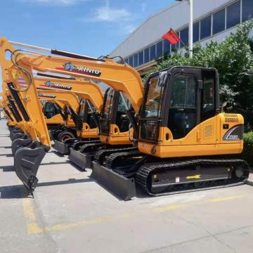 Construction machinery 8 ton  mini crawler excavator