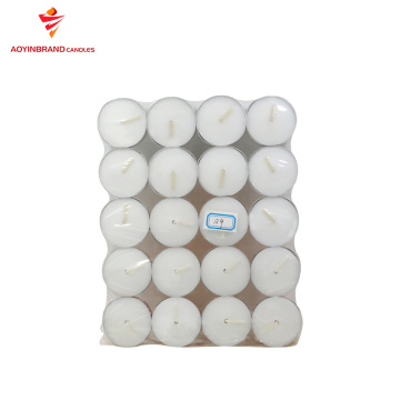 100pcs/pack custom size tealight candle for Proposal