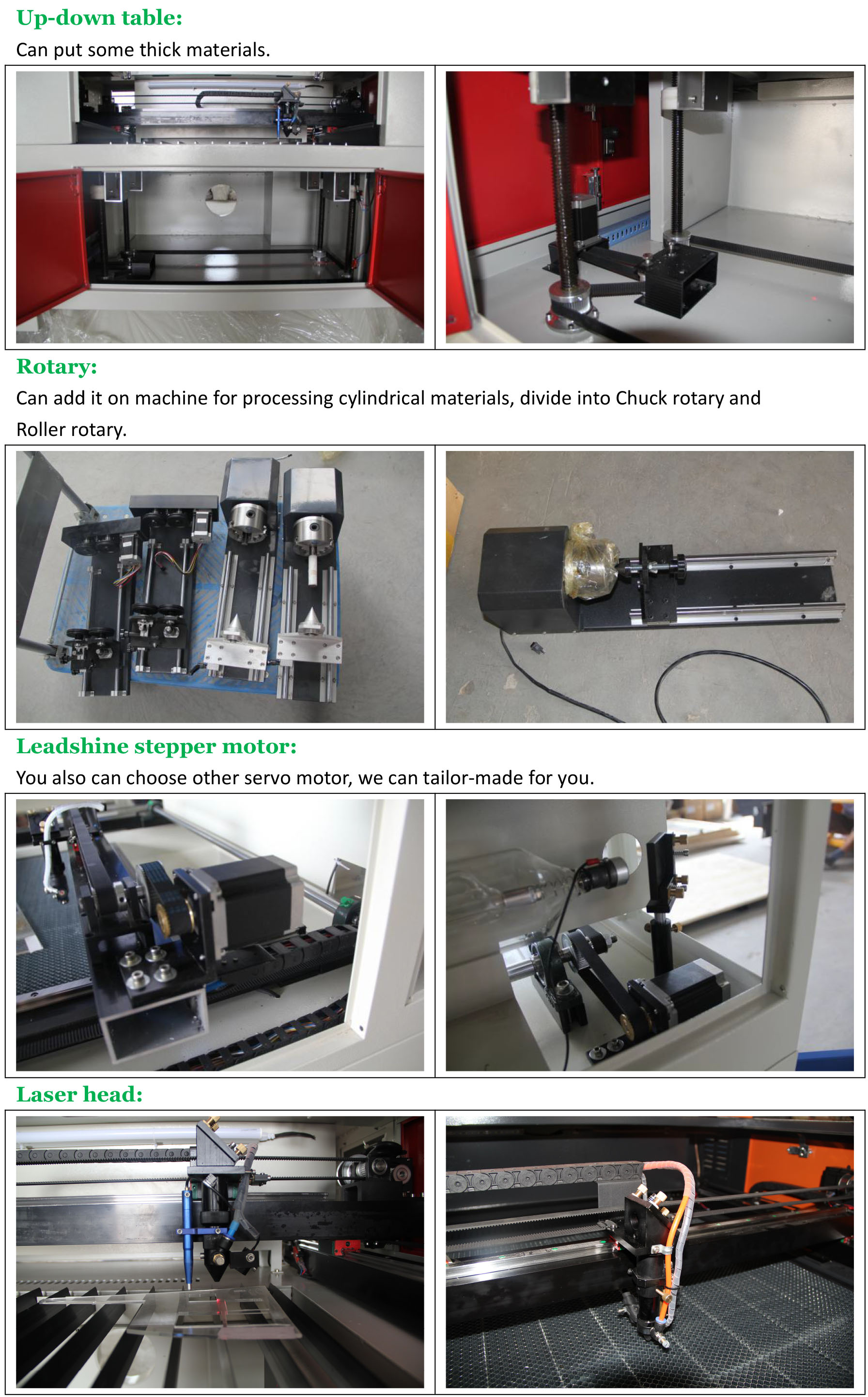 CO2 laser cutter machine for sale