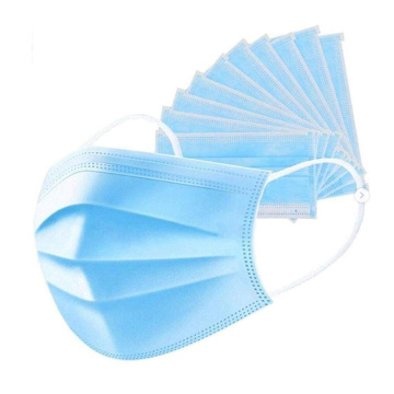 3-Ply Anti Dust Breathable Earloop Face Mask