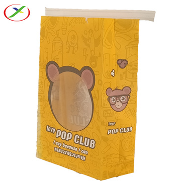 Kraft Paper Bag with  opening window