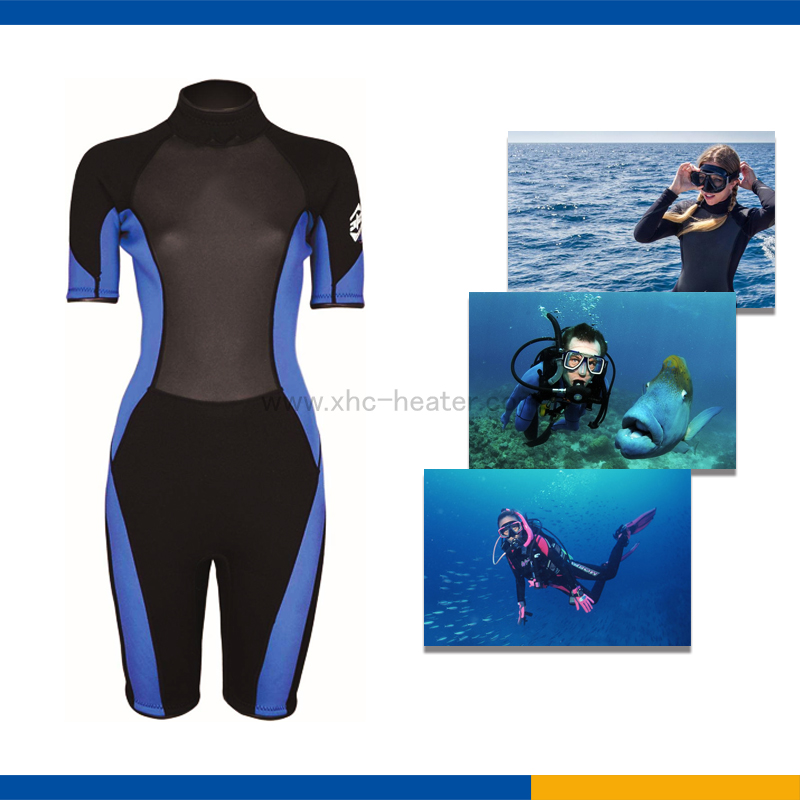 XHC-F017-PET heaters film for heated diving clothes