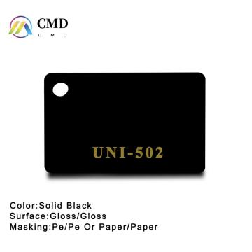 Cast Acrylic Sheets Solid Black