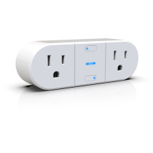US standard dual-output WIFI smart socket
