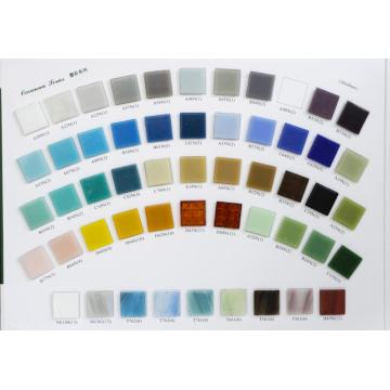 Undot/Sandless Mosaic Color Reference card board