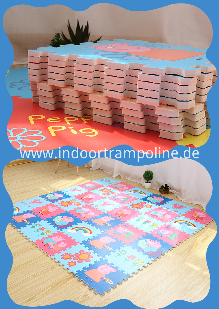 puzzle indoor mat