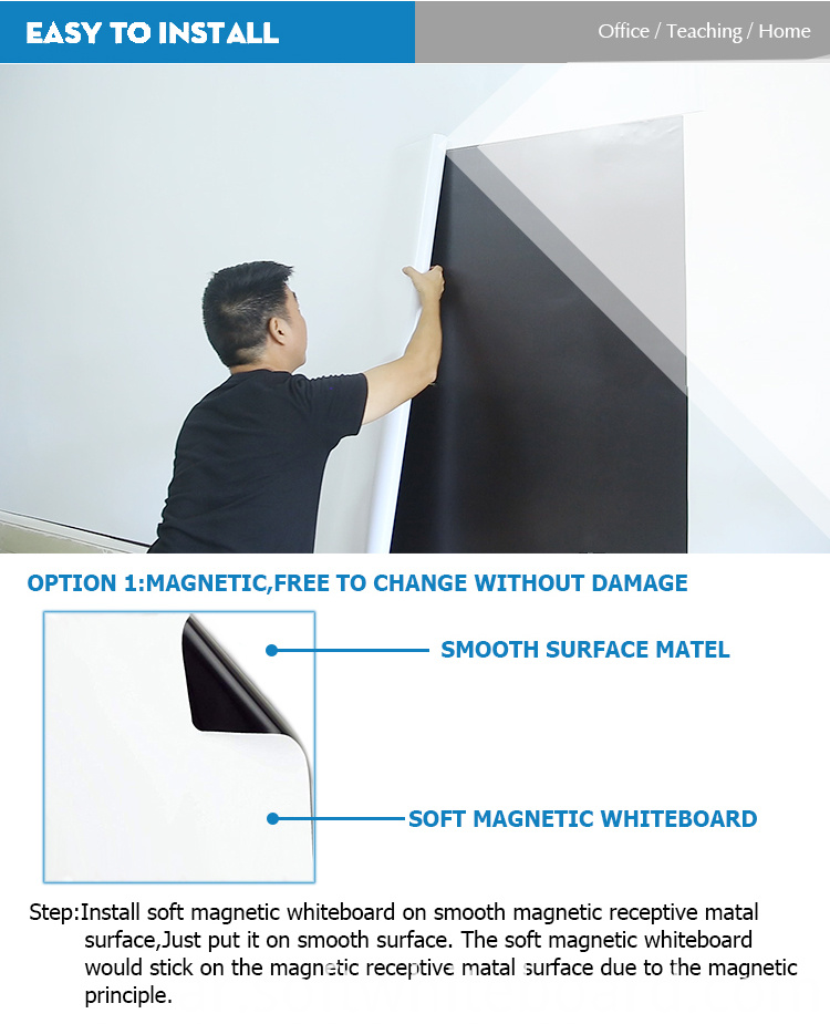 soft magnetic whiteboard advantage