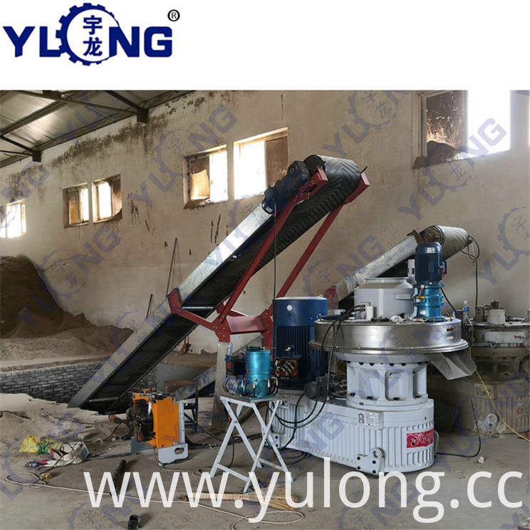 Yulong Machinery for Pelletizing