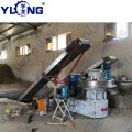 YULONG XGJ560 pellet machine for wood sawdust
