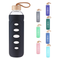 Flexible Glass Water Bottle Protective Silicone Sleeve