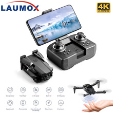 LAUMOX XT6 Mini 4K Drone HD Double Camera WiFi Fpv Air Pressure Altitude Hold Foldable Quadcopter Rc Helicopter Child Toy R16