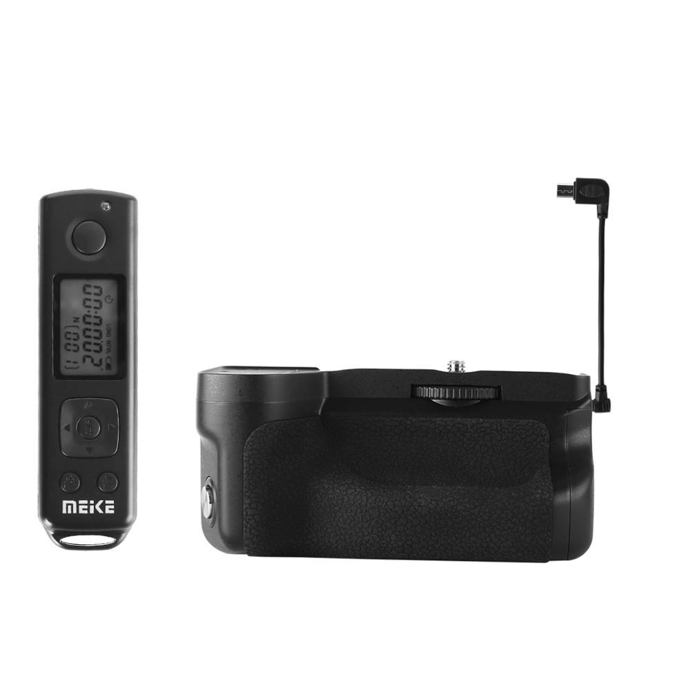 Meike MK-A6600 PRO Vertical Camera battery grip for Sony Alpha a6600 Camera Built-in 2.4G wireless remote control as ILCE6600