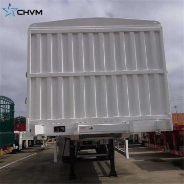 semi trailer cargo box side wall trucks
