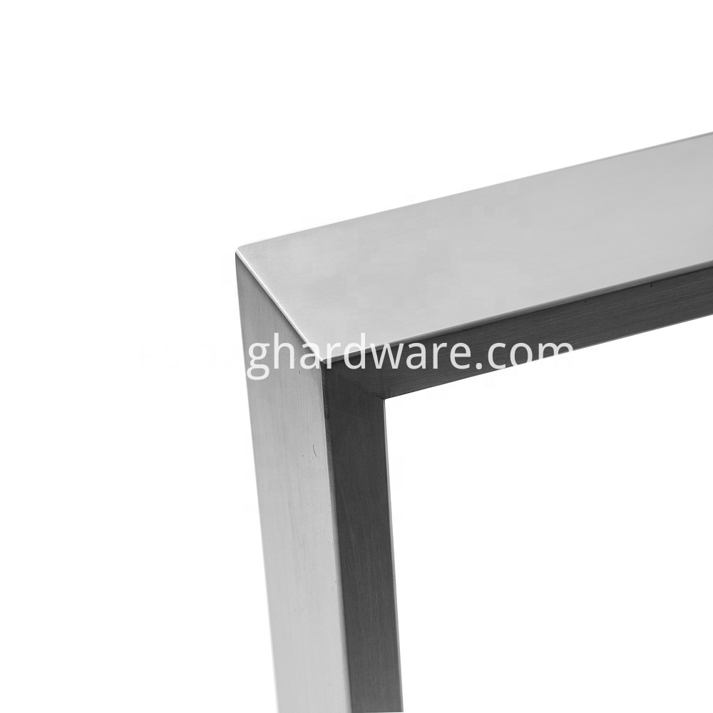 Stainless Steel Table Legs Modern T Shaped 2