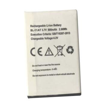 Rechargeable Li-ion Battery 3.7V 800mAh 2.96Wh