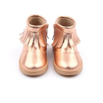 2019 Mid-Calf Boot TPR Children Boot Moccasins