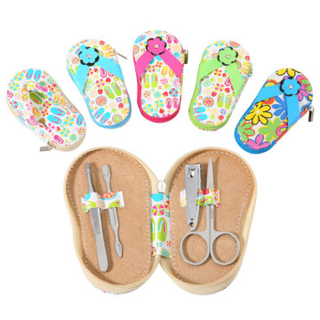 4pcs Girls Manicure Pedicure Manicure Set