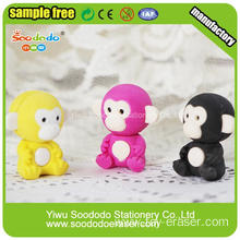 Red Monkey Stationery Fashion Eraser