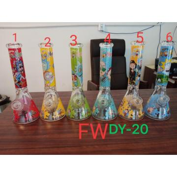 Coloful 51mm water pipe beaker bongs