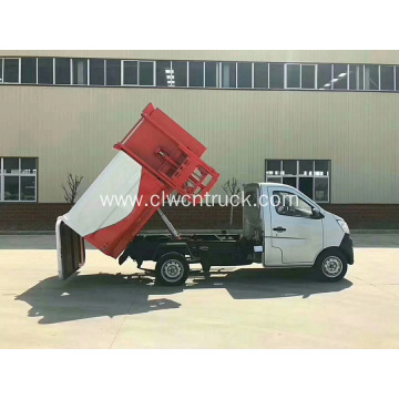 Hot Cheap Small Side Loader Waste Transfer Truck