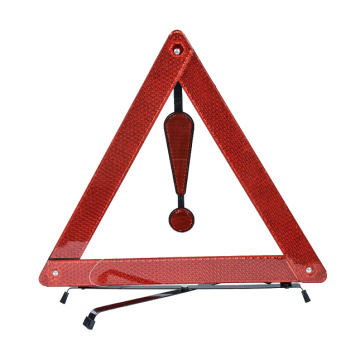 Emergency Roadside Safety Triangles with Exclamation