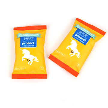 Portable Remove Deodorizing Bath Wipes for Pet