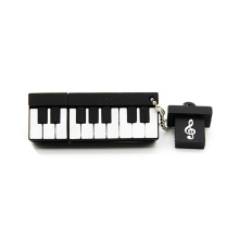 Music note pen drive instrumento musical