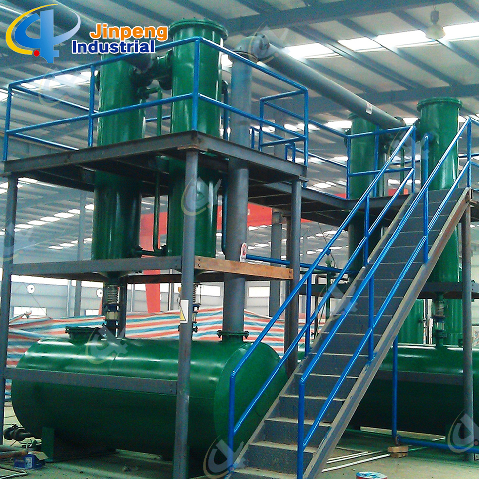 Used Plastic to Diesel Tire Pyrolysis Machine