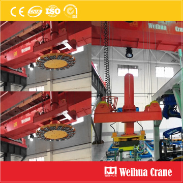 Overhead Crane with Magnechuck