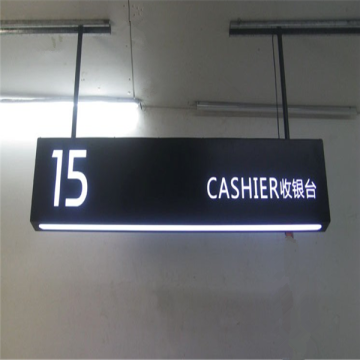 Customized Wayfinding LED Hanging Light Box
