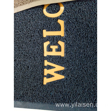 Welcome pvc door mat office entrance rugs