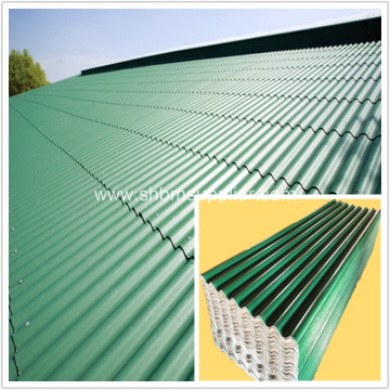 High Strength Fireproof PET Membrane MgO Roofing Sheet