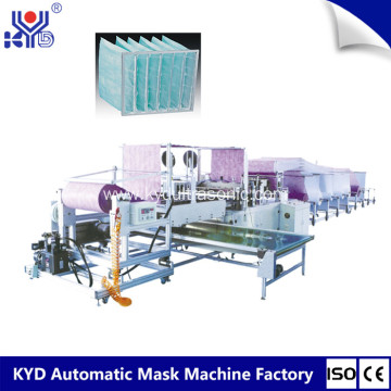 High Quality Cheap Pocket Air Filter Making Machine