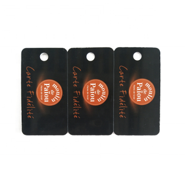 Programmable Rfid Non-Standard Card Die Cut Cards