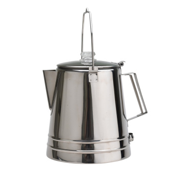 Stainless Steel Camping Coffee Pot Portable Coffee Pot