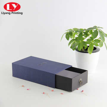 Customized drawer box cardboard slide gift box packaging