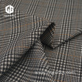Nylon Rayon Spandex Jacquard Fabric With Check Pattern