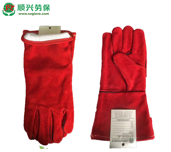 Leather Welding Welder Work Gloves