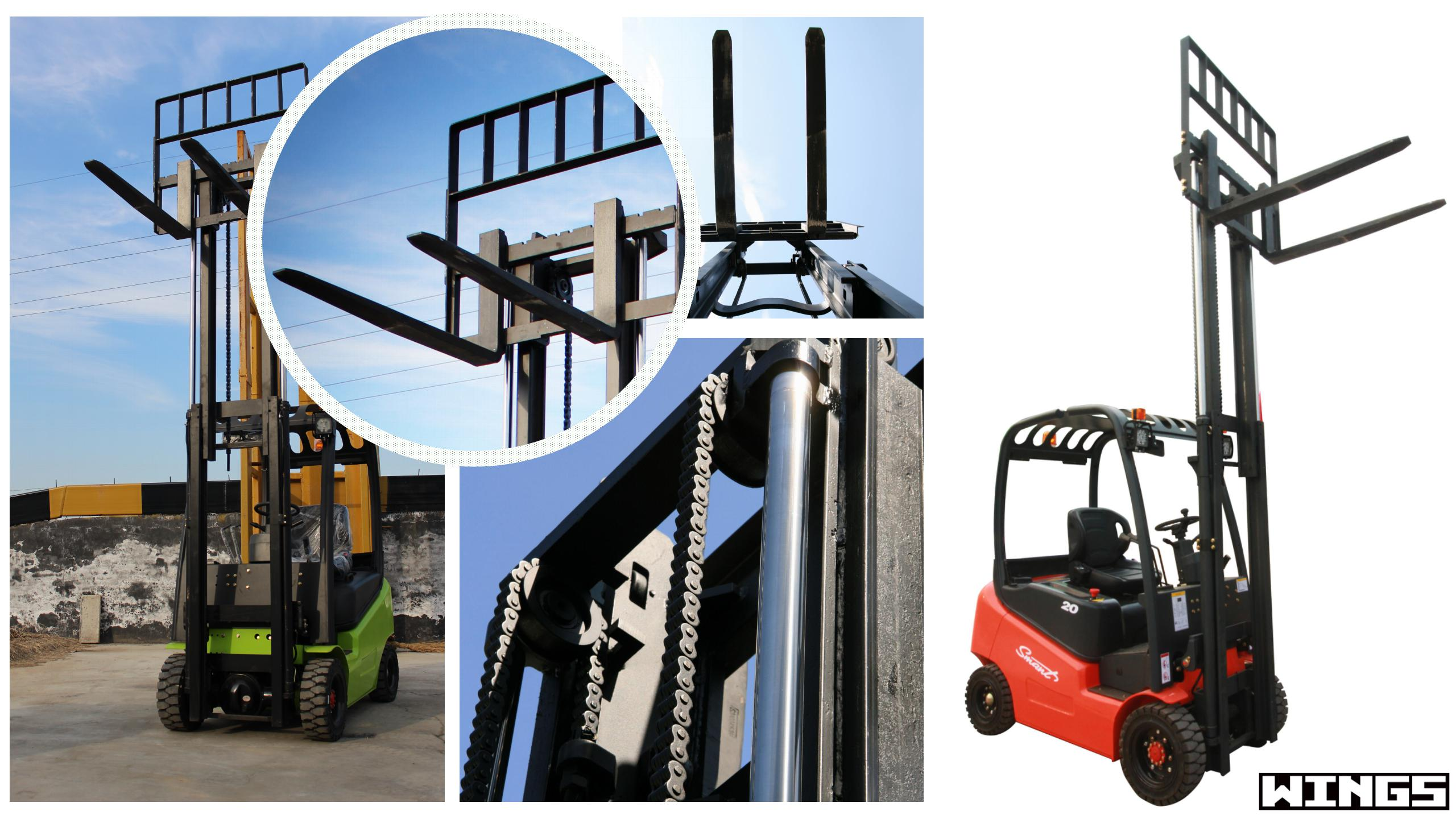 1.5tons battery forklift CE certificate