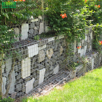 Lowes Welded Galvanizing Gabion Stone Wall Mesh Fence