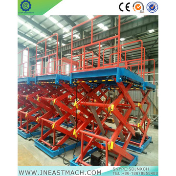1.0t Stationary Hydraulic Cargo Lift Table